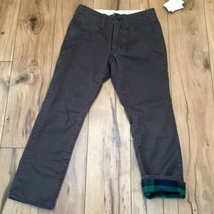 Gap Kids Lined Pants, Sz 6 Slim